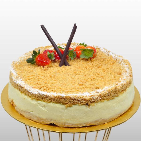 Just Heavenly Cake - Apple Crumble Cheesecake
