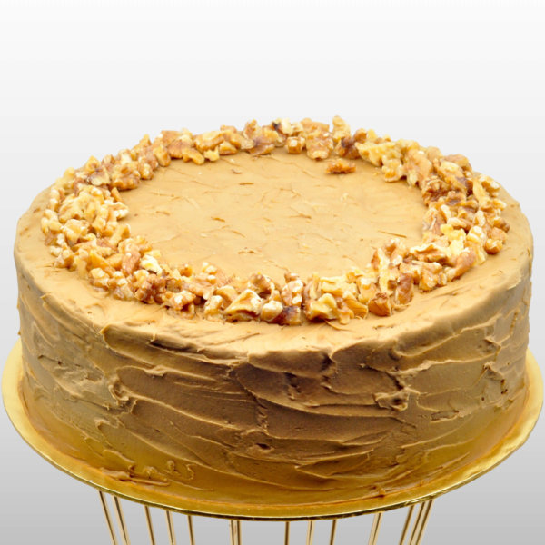 Just Heavenly Cake - Gluten Free Chocolate Coffee Walnut Cake