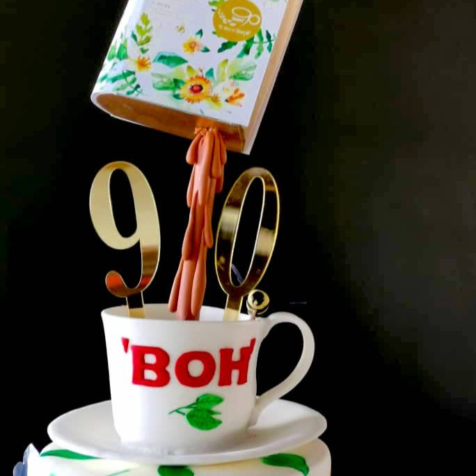 Boh Tea 90th Anniversary Cake by Just Heavenly 1