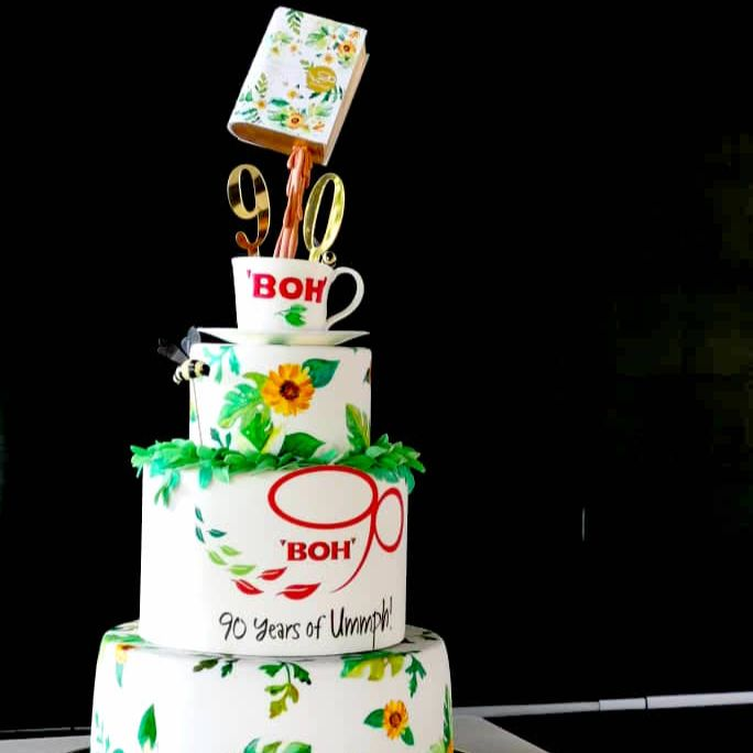 Boh Tea 90th Anniversary Cake by Just Heavenly 2