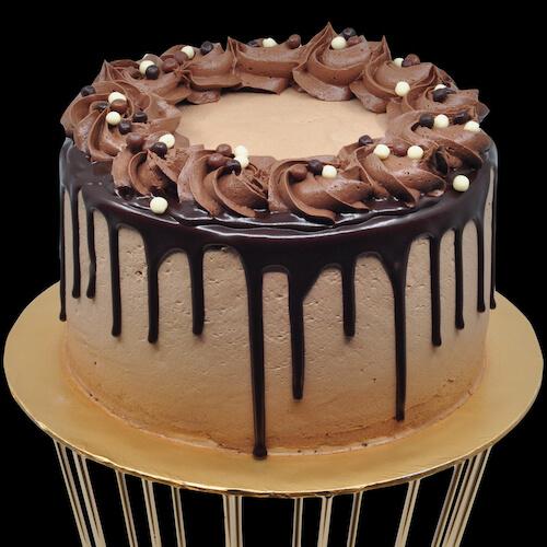Heavenly Mocha Cake by Just Heavenly