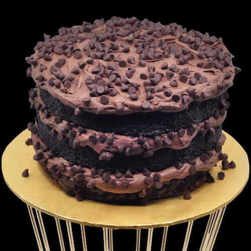 Heavenly Black Beauty Cake by Just Heavenly