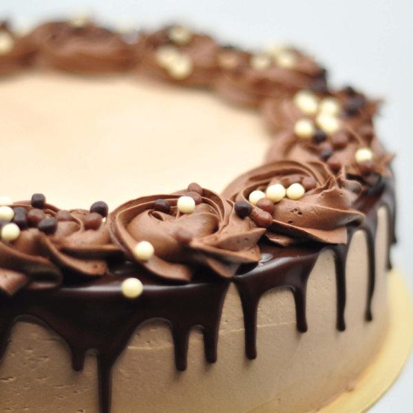 Just Heavenly Cake - Heavenly Mocha Cake