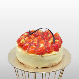 Just Heavenly Cake - Strawberry Cheesecake