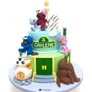 Novelty Sesame Street Birthday Cake by Just Heavenly