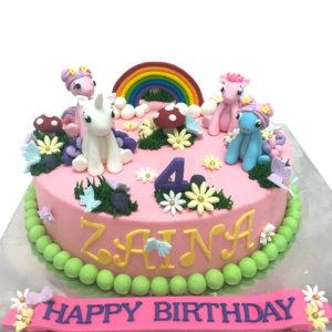 Novelty Mu Little Pony Birthday Cake by Just Heavenly