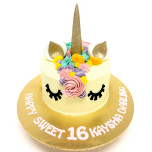 Novelty Unicorn Birthday Cake by Just Heavenly