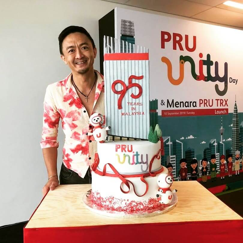 Prudential 95th Anniversary Cake by Just Heavenly