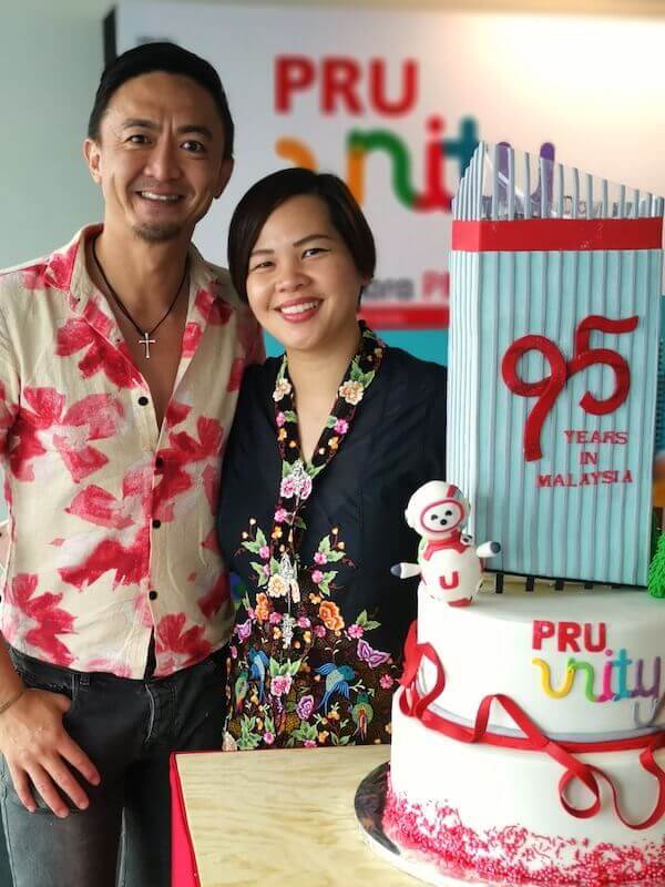 Prudential Malaysia 95th Anniversary Cake by Just Heavenly