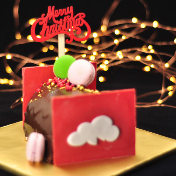 Christmas Log Cake by Just Heavenly SQ 4